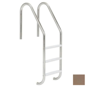 "S.R. Smith 24"" Economy 3-Step Vinyl Ladder - Taupe w/ Escutcheons - Item VLLS-103E-TP"