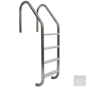 "S.R. Smith 24"" Economy 4-Step Vinyl Ladder - Steel w/ Escutcheons - Item VLLS-104E"