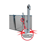 "Baby-Loc Magna Latch Self Closing Gate 4' Tall x 30"" Wide - Item BLGATE4"