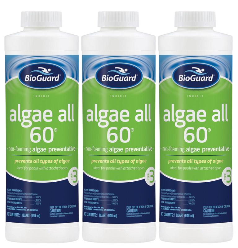 Hydropool Com Bioguard Algae All 60 Pool Algaecide 32 Oz