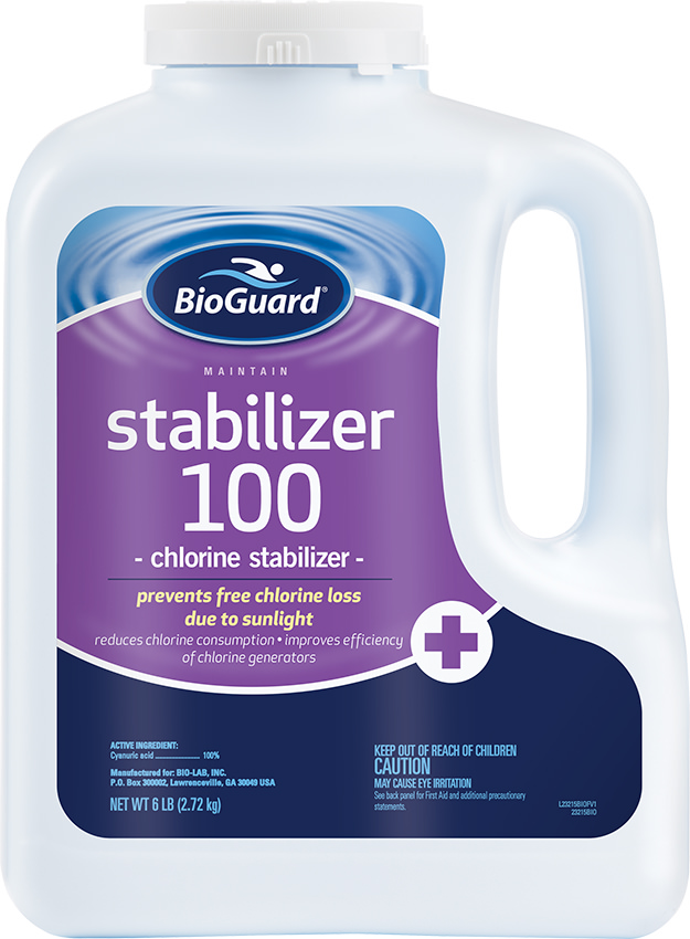 Bioguard Swimming Pool Chlorine Stabilizer
