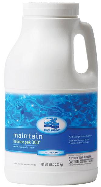 Bioguard Balance Pak 300 Calcium Hardness Increaser For