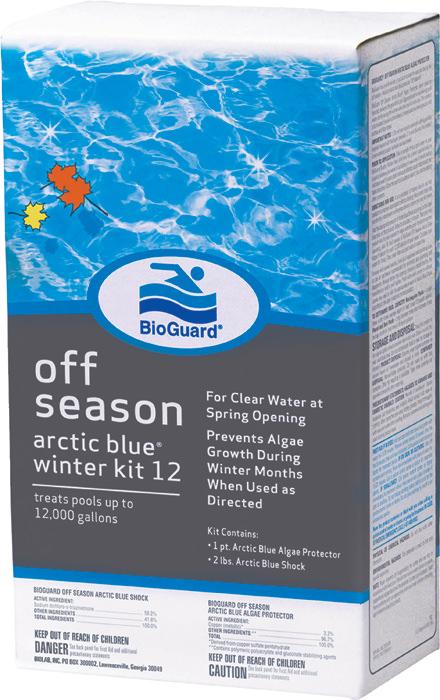 BioGuard Arctic Blue Winter Kit 12,000 gal
