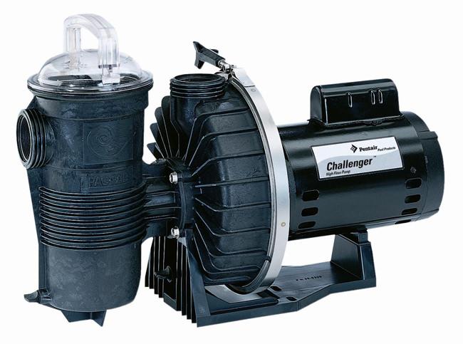 Pentair Challenger Pool Pump 1 5 HP 115/230v