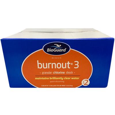 Bioguard Burnout 3 Swimming Pool Chlorine Shock 12 Lb