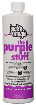 Jack S Magic The Purple Stuff Salt Solution 32 Oz