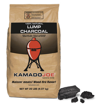 kamado joe natural lump charcoal 20lbs