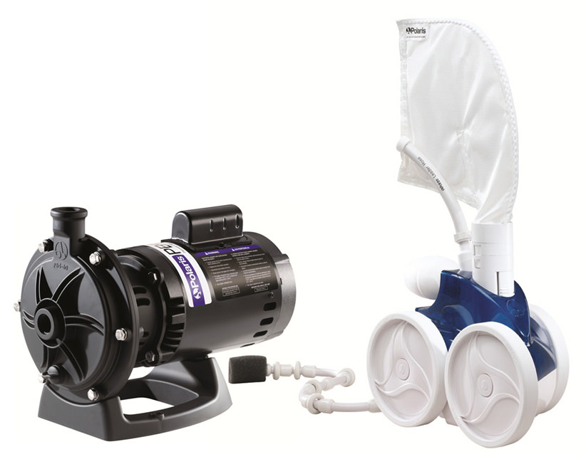 Polaris 380 Automatic Pool Cleaner with PB4-60 Booster Pump Item #F-3-P