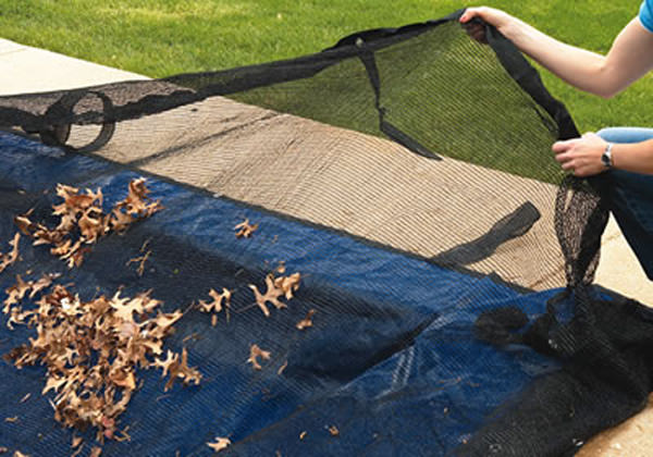Leaf Nets for Pool Covers