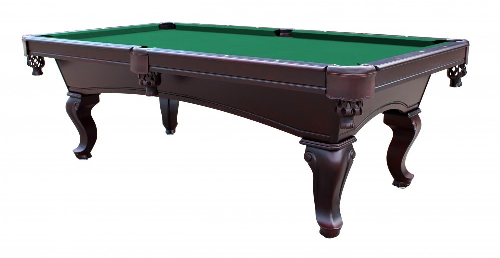 Monterey 8 ft slate pool table with green - Pool table green felt ...