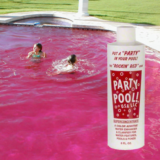 Hydropool Com Party Pool Superconcentrate Red Item Pp Red