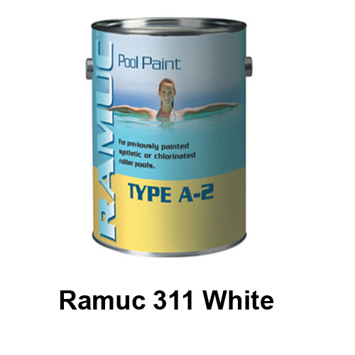 Ramuc type a 2 chlorinated rubber based - Chlorinated rubber swimming pool paint ...