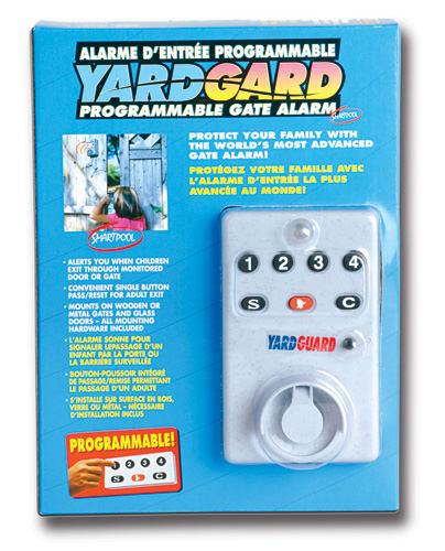 Hydropool smartpool yardgard programmable alarm
