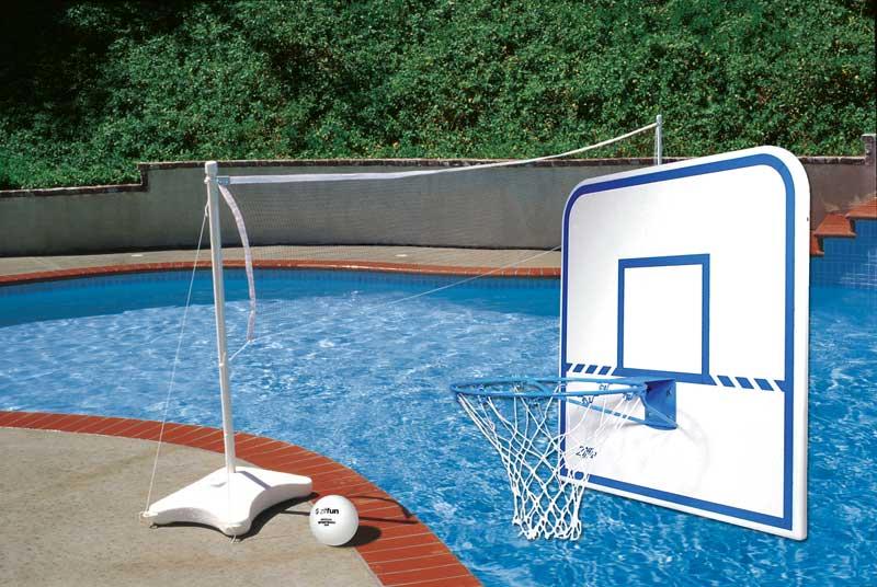 Hydropool Ziffun Poolside Basketball Volleyball Combo Item Z138b