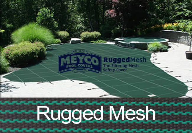 Hydropool Com Meyco 20x40 Rectangle Rugged Mesh Green