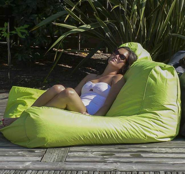 Sit In Pool Sofa Lounger Lime Item 950101