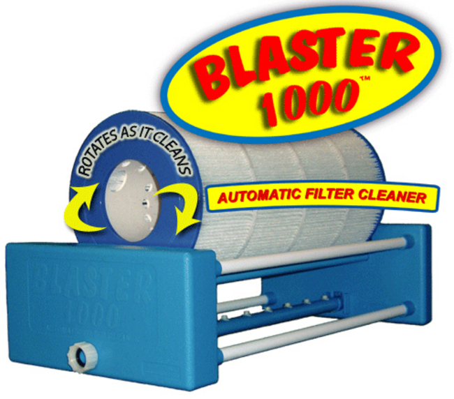 cartridge filter cleaner blaster 1000 automatic filter cleaner for pools and spas 2008