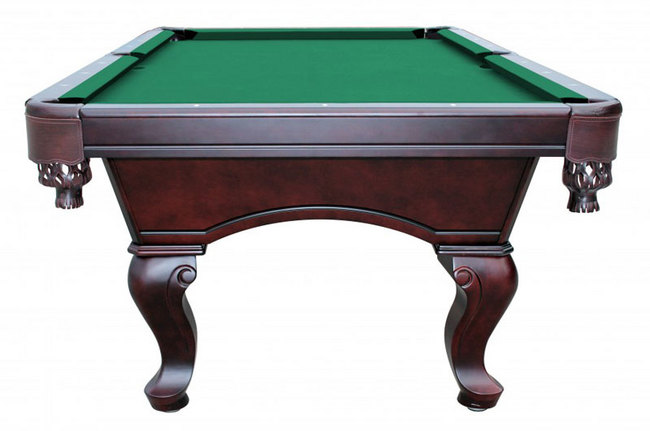Monterey 8 ft slate pool table with green felt - Pool table green felt ...