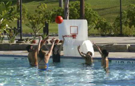 Pool Shot Junior Varsity Basketball Game