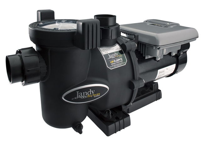 Jandy vs flopro series variable speed pool pump with jep r for Jandy pool pump motor replacement