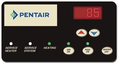 Pentair MasterTemp 400,000 BTU Low NOx Natural Gas Pool Heater