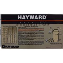 Decal, Hayward Perflex 65/A/75/A - Item 14-150-1178