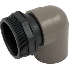 Inlet Elbow Assy, Hayward Micro-Clear SS, w/O-ring/Bulkhead - Item 14-150-1282