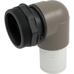 Outlet Elbow Assy, Hayward Micro-Clear, w/O-ring/Bulkhead - Item 14-150-1300