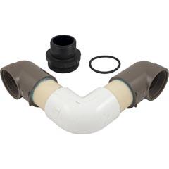 Inlet Elbow Assy, Hayward Micro-Clear, w/O-ring/Bulkhead - Item 14-150-1310