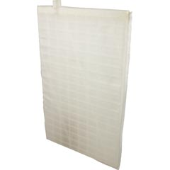 "Diatomaceous Earth Grid, Rectangular, 18"" x 11"", Offset Port - Item 14-176-1085"
