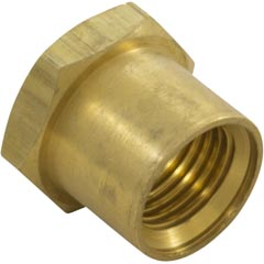 "Insert Nut, Anthony Apollo DE Filter Shaft, 0.5"", Brass Item #14-402-1120"