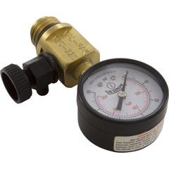 Pressure Gauge/Air Relief, FNS Plus, Val-Pak, Generic - Item 14-612-2000