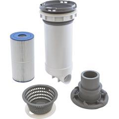 """Skim Filter, Waterway Dyna Flo XL, 50 sqft, 2-1/2""""s, Gray - Item 16-270-1600"""