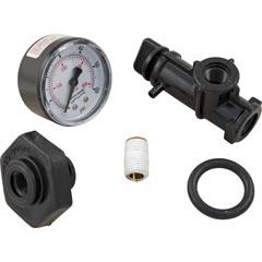 """Pressure Gauge Assy,Pentair,System 3,1/4""""mpt,0-60psi,Back MT - Item 17-102-1304"""