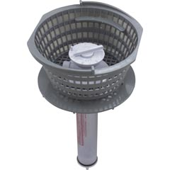 Lily Chemical Dispenser, Pentair Dynamic IV,w/ Basket,Dk Gry Item #17-102-1366