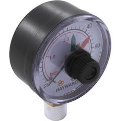 "Pressure Gauge,Hayward,1/4""mpt,0-60psi, Bottom Mount,w/Dial - Item 17-150-1680"