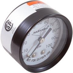 Pressure Gauge, Speck, ACF Cartridge Filter - Item 17-475-1100