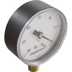 "Pressure Gauge, Jacuzzi, 1/4""mpt, 0-60psi, Bottom Mount Item #14-105-1126"