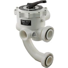 "Multiport Valve, Praher SM2-PP3, 2"", with PacFab Plumbing - Item 26-253-1125"