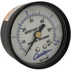 Pressure Gauge, Carvin CFR/SherLok/AV40/LS40/Dirtbag/160L - Item 27-105-1535