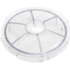 Lid, Pentair EQ Series, Hair and Lint Strainer, Clear - Item 35-110-3202