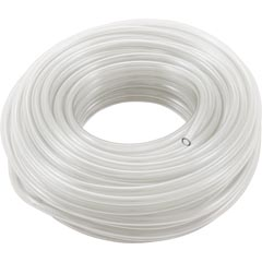 """Tubing, Suction, Blue-White, C-600, 3/8""""od, 100ft, Clear PVC - Item 43-213-1106"""