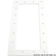 Skimmer Faceplate, Waterway FloPro, Wide Mouth, White - Item 51-270-1063