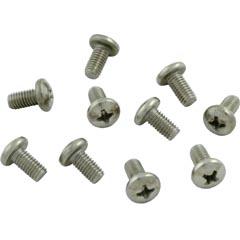 Screws,Pentair Letro Legend Cleaners,Turbine Bearing, qty 10 - Item 87-104-1053