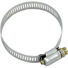"""Stainless Clamp, 1-3/4"""" to 2-3/4"""" - Item 89-423-1007"""