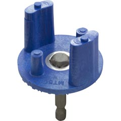 "Tool, Clamp Knob Socket, 4-Lobe, w/1/4"" Socket Bit Adapter - Item 99-615-1006"