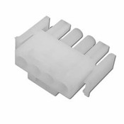Amp Plug 4 Pin Male Plastic White - Item 1-480702-0