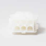 "Amp Receptacle 6"" Pin Female Matrix Plastic White - Item 1-480705"