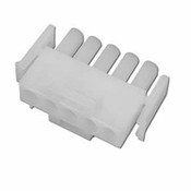 "Amp Plug 5"" Pin Male Plastic White - Item 1-480763"