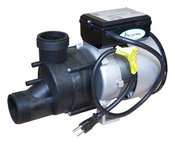 Complete Bath Pump Power WOW 1.5 HP 6 AMP 230v 1-Speed with Air Switch 3 ft. ... - Item 1034016
